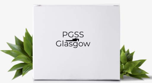 Our box with our logo on it - PGSS GLASGOW Plumber Glasgow SouthSide